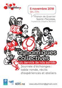 affiche dynamiques collectives en santé
